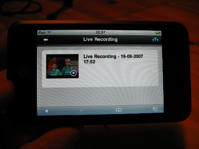 cast42 streaming video with eyetv 25 to an ipod touch