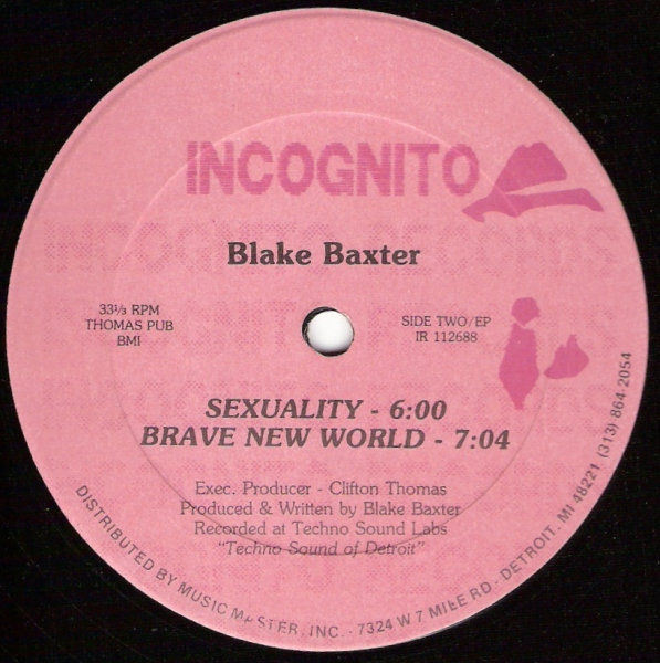 Blake Baxter When We Used To Play