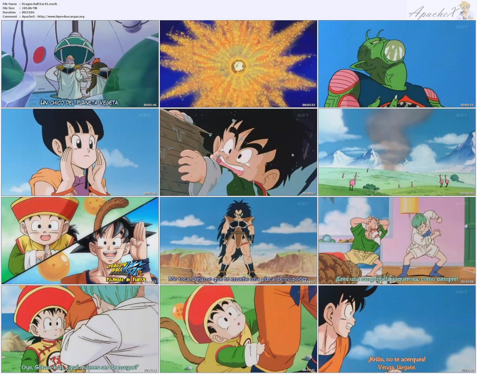 Imágenes de ( Dragon ball kai , z , gt , af )