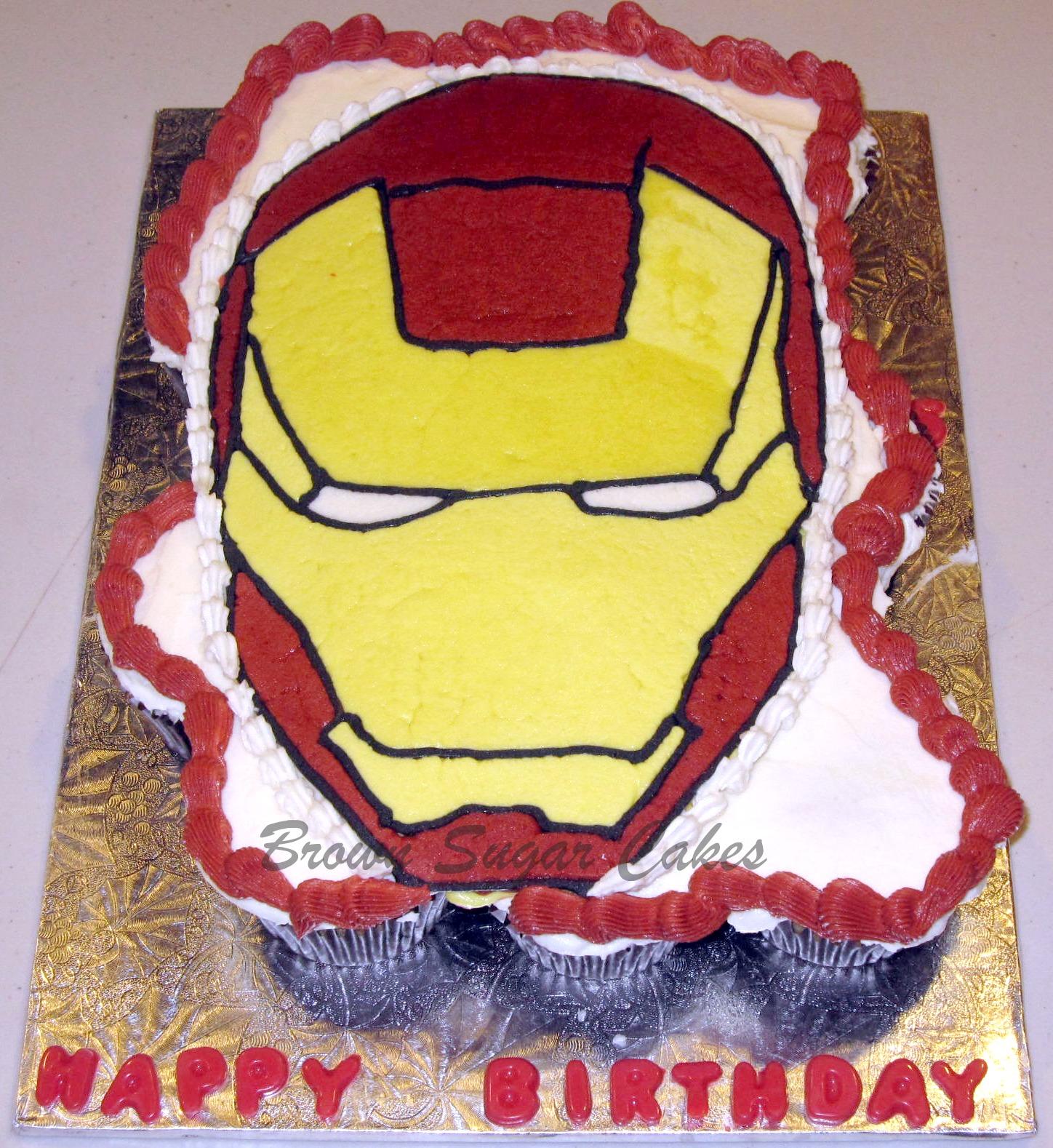 Man S Pull Apart Cupcake Cake