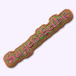 Ecusson Sugarbaby