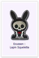 Customize.fr Ecusson Lapin squelette
