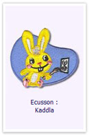 Customize.fr Ecusson Lapin Kaddla