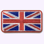 Patch Union Jack ecusson customize.fr