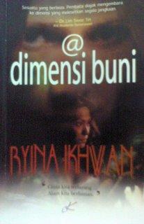 "ulasan novel ""@ dimensi buni"" dari Rose harissa"