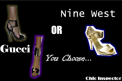 Gucci or Nine West?