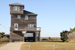 maison typique de Cape Hateras