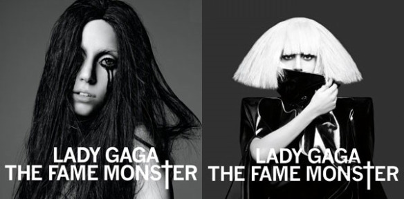 lady gaga fame monster album cover. lady gaga fame monster.