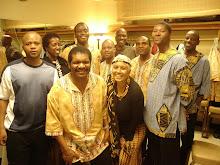 Me with Ladysmith Black Mambaza 2009