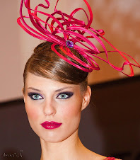 Campeona de España en maquillaje. Alfombra Roja Salon Look Ifema 2010 para Airbase