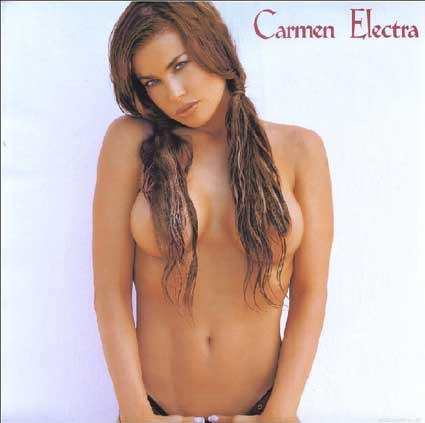 carmen electra naked photos