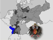 Mapa Alsacia-Lorena / Alemania