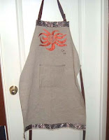 African themed Apron