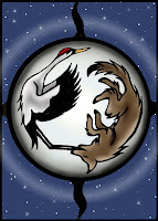 Coyote goes to the Moon by Melissa Muir (Lagaz) March 2008