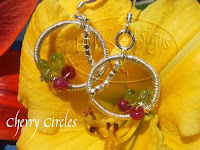 Cherry Circles Earrings