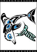 Dolphin & Hummingbird Totem