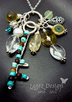 A Charm Necklace by Lagaz Designs