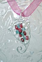 Diane Paisley Pendant