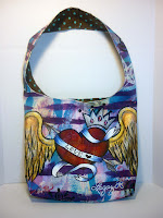 Sacred Heart Hobo bag
