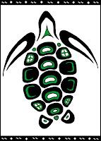 Sea Turtle Totem