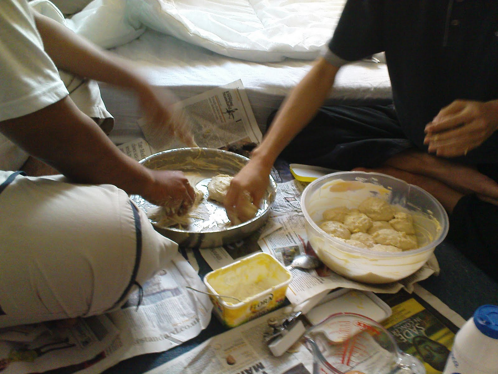 Resepi Roti Canai Gulung