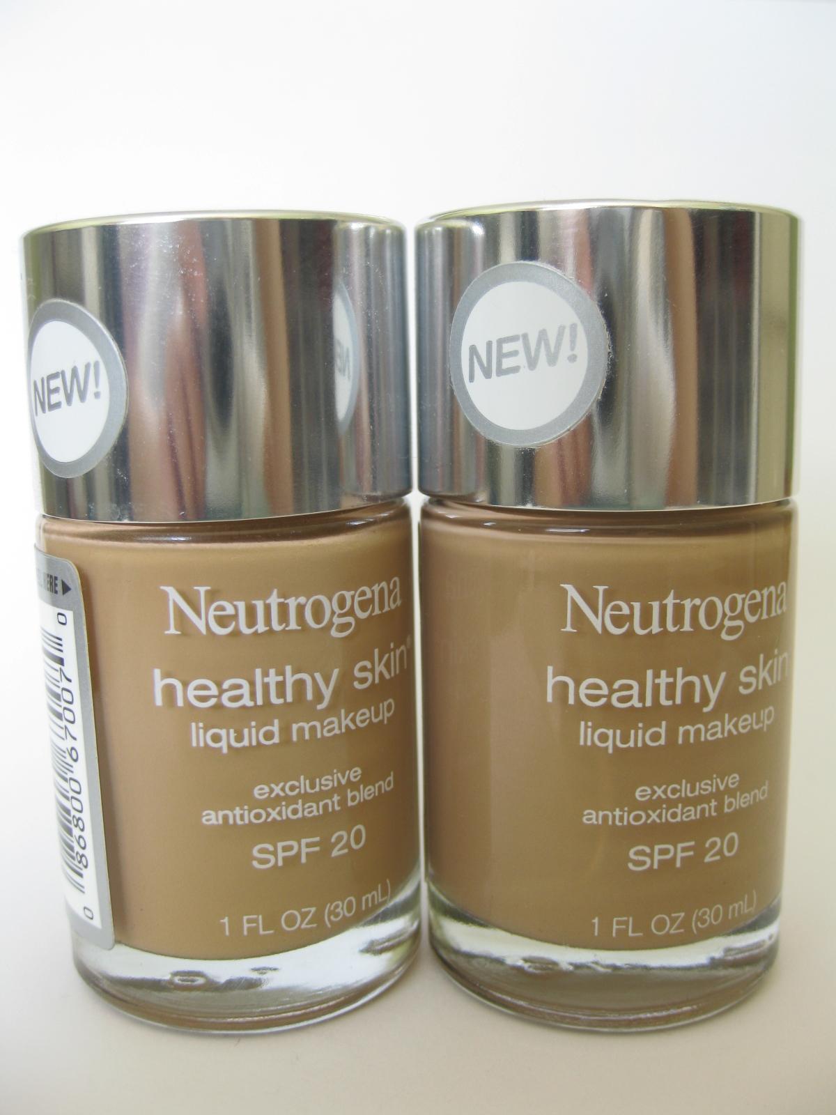 Neutrogena healthy skin liquid makeup shades