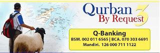 TUNAIKAN QURBAN MELALUI QURBAN BY REQUEST 3 AL AZHAR PEDULI UMMAT NO TELP 722 1504, 720 4733