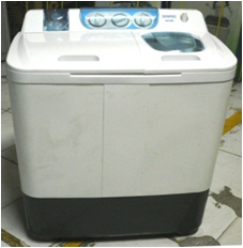 Denpoo Washing Machine semi Auto 8.5 KG DW 898