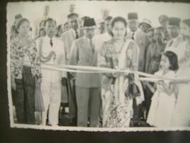 Peresmian RSK. Sitanala oleh Ny. Rahmi Hatta