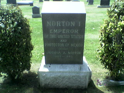 Norton I, Woodlawn Cemetery, Colma, CA