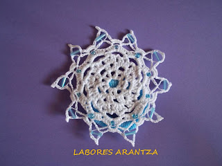 Coletero crochet/Scrunchie