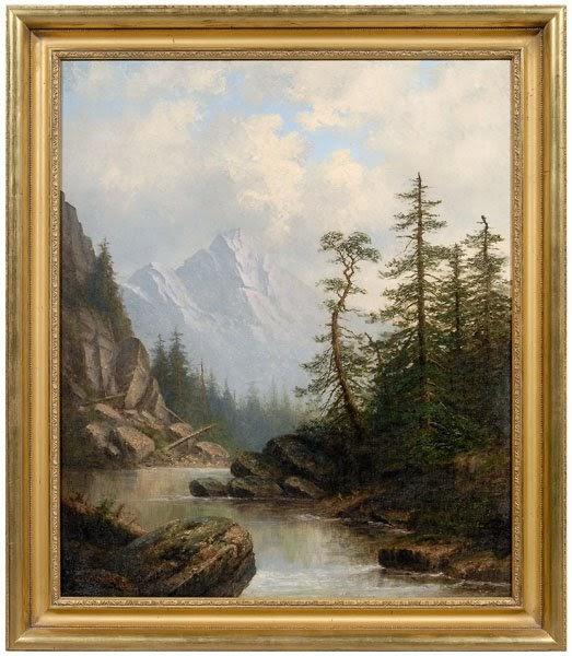 Carl Brenner Oil Paintings