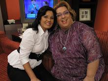 Participação no programa Mulheres, na TV Gazeta