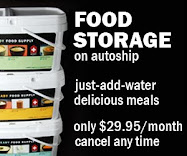 Food Storage on Autoship