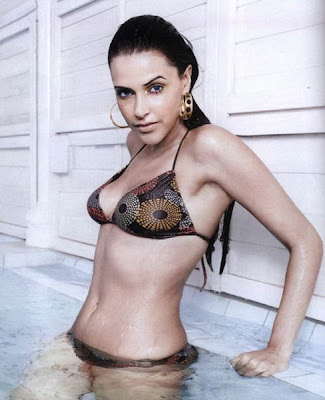 Neha Dhupia Sexy Bikini