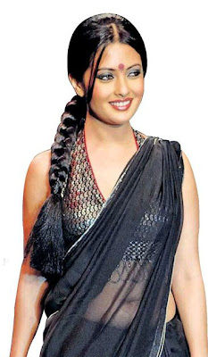 Bengali Beauty Riya Sen in Transparent Sarees, Bengali Actress Online