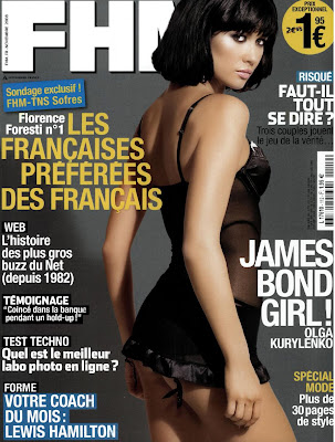 Olga Kurylenko in fhm cover
