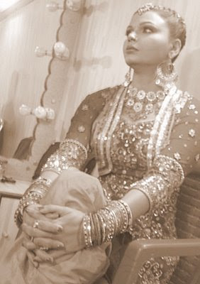 rakhi sawant as bride