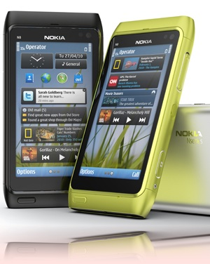 Nokia N8 support - Set up Ovi Store. - Three