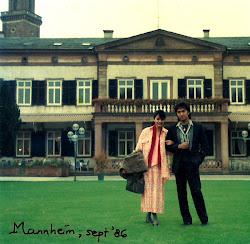 Kak Ikang dan Kak Marissa saat Bulan Madu di Jerman Barat, 1986
