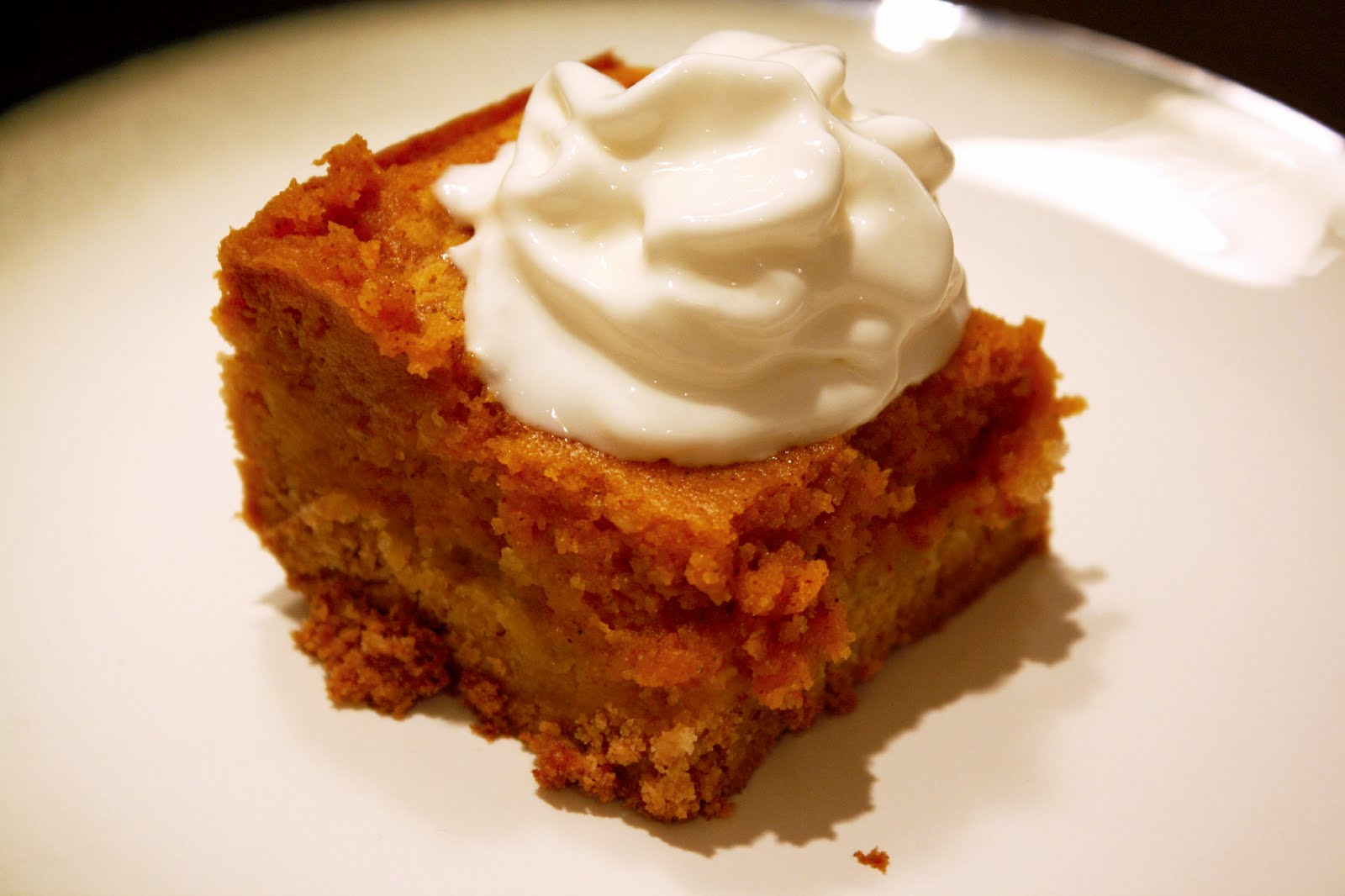 Pumpkin Gooey Butter Cake | What Megan's Making