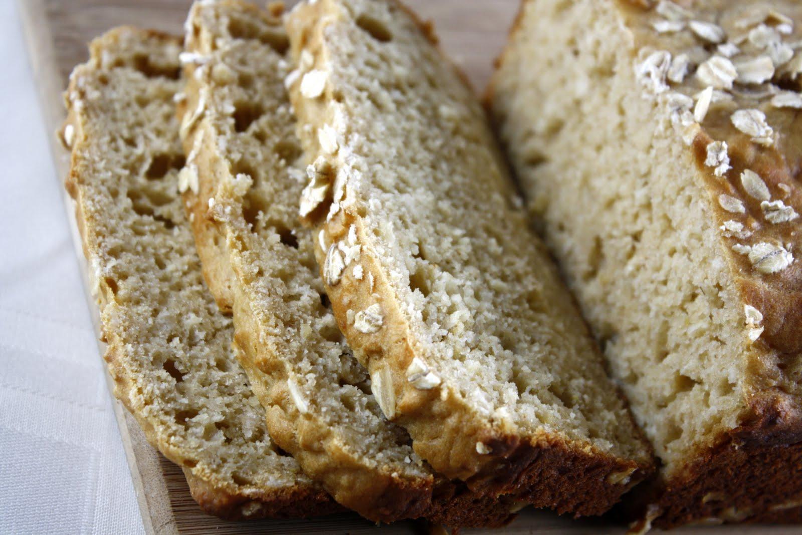 Honey Oat Quick Bread   What Megan's Making