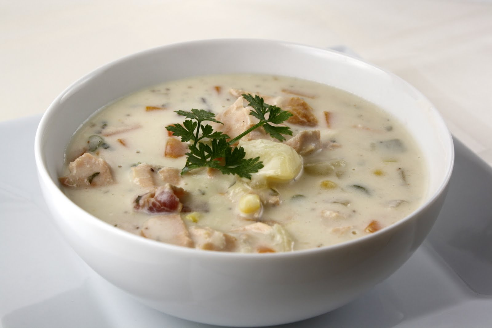 Adirondack Salmon Chowder | What Megan's Making