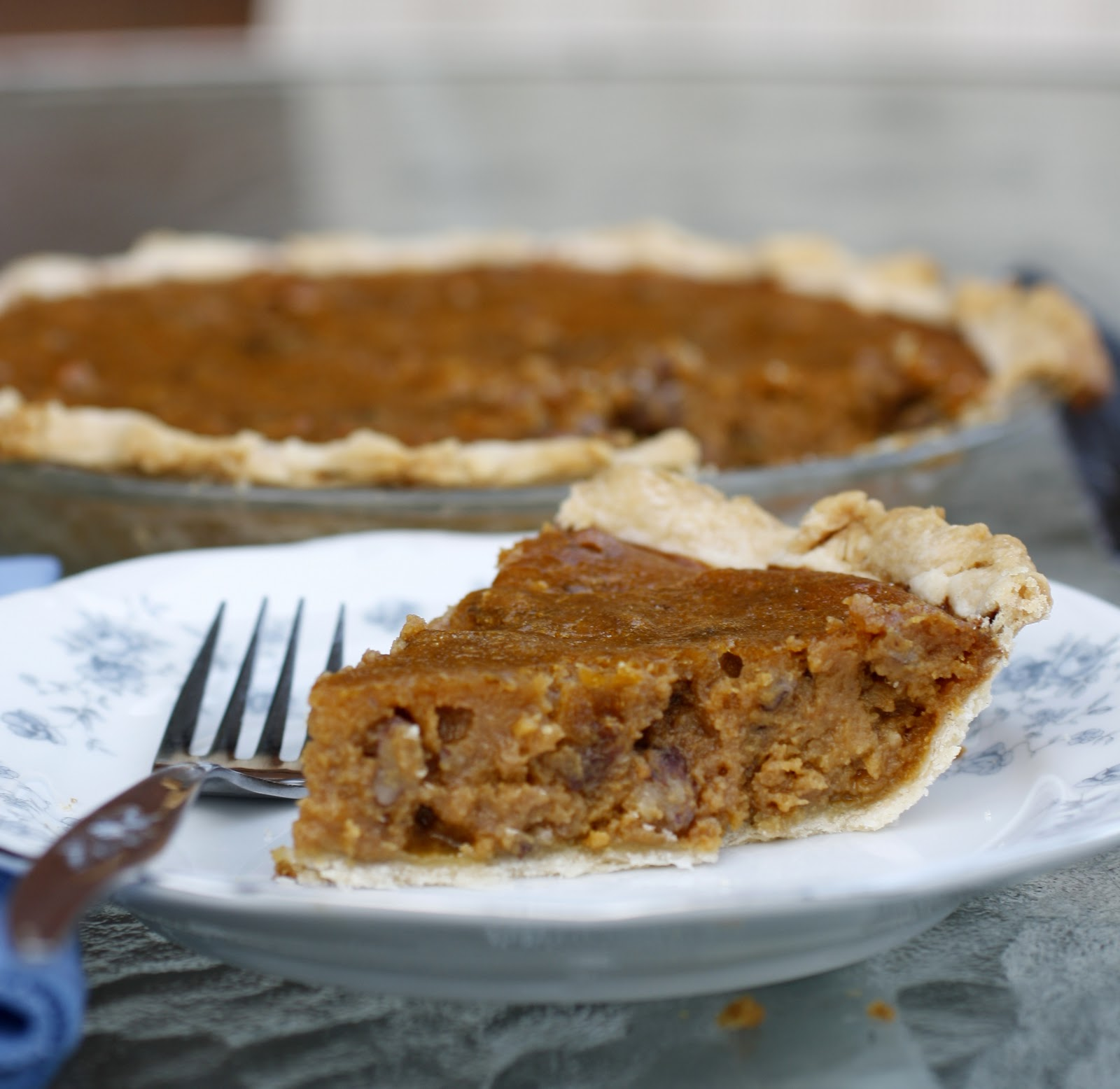 Pumpkin Pecan Pie | What Megan's Making