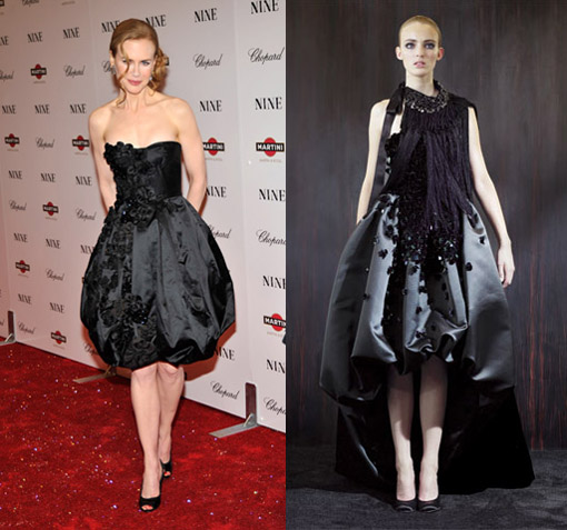 Nicole Kidman in Prada Fall 2009 [Modified version]