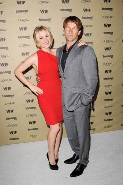 Newlyweds Anna Paquin and Stephen Moyer attend the 2010 Entertainment Weekly ...