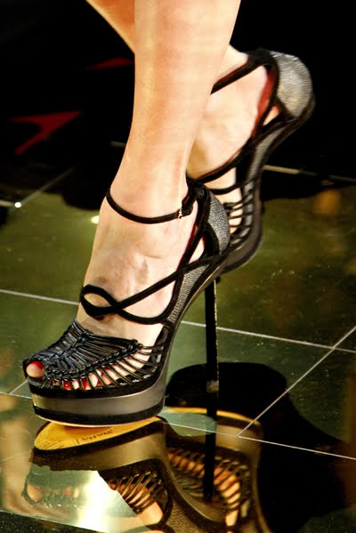 john galliano shoes. John Galliano Spring 2011