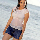 Ramya Wet @ Beach Hot Stills