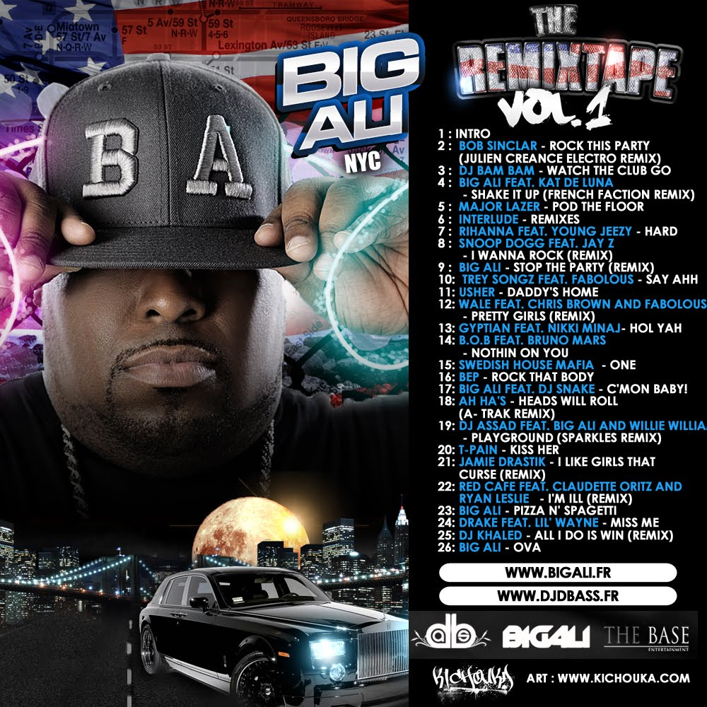 Big Ali - The REMIXTAPE Vol. 1