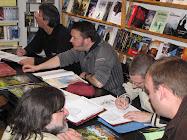 Juan Maria CORDOBA, Thierry OLIVIER et Marc CHARBONNEL le 28 mars 2009